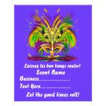 "Mardi Gras Queen 4.5"" x 5.6"" View Notes Please Full Colour Flyer"