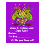 """Mardi Gras Queen 4.5"""" x 5.6"""" View Notes Please Personalized Flyer"""