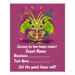"Mardi Gras Queen 4.5"" x 5.6"" View Notes Please Custom Flyer"