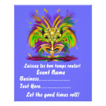 """Mardi Gras Queen 4.5"""" x 5.6"""" View Notes Please Full Color Flyer"""