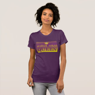Mardi Gras Queen Apparel T-Shirt