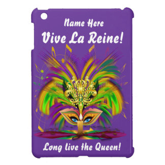 Mardi Gras Queen Important view notes Case For The iPad Mini