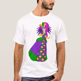 Mardi Gras Queen Mens T-Shirt