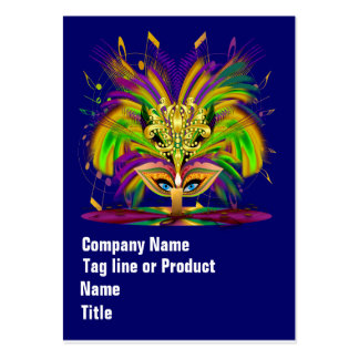 Mardi Gras Queen Please View Hints Business Card