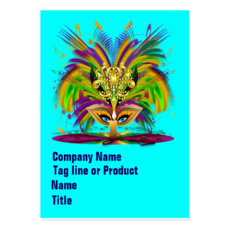 Mardi Gras Queen Please View Hints Business Card Templates