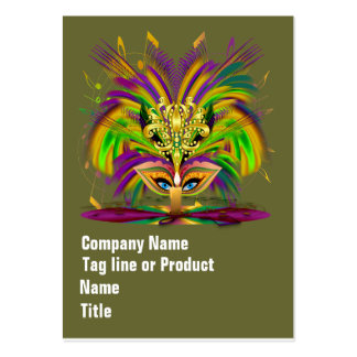 Mardi Gras Queen Please View Hints Business Cards