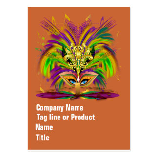 Mardi Gras Queen Please View Hints Pack Of Chubby Business Cards