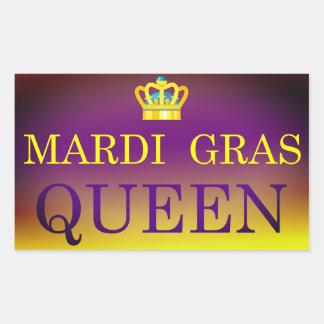 Mardi Gras Queen Sticker