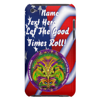 Mardi Gras Queen Style 2 View Notes Plse Barely There iPod Cases