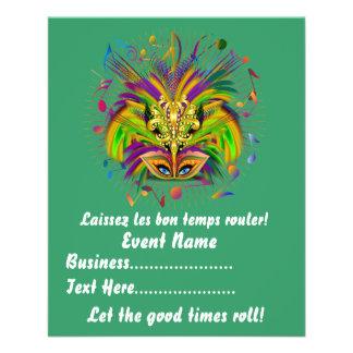 Mardi Gras Queen Style 3 View Notes Plse Custom Flyer