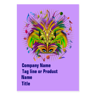 Mardi Gras Queen Style 3 View Notes Plse Pack Of Chubby Business Cards