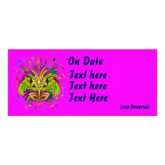 Mardi Gras Queen Style 3 View Notes Plse Rack Cards