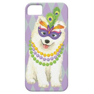 Mardi Gras Samoyed iPhone 5 Cases