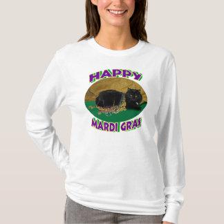 Mardi Gras Star Cat T-Shirt