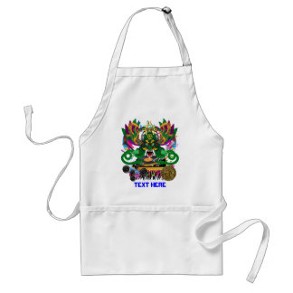 Mardi Gras Theme Plse View Notes Standard Apron