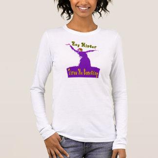 Mardi Gras, Throw Me Something Long Sleeve T-Shirt