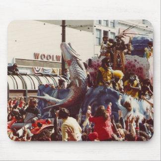 Mardi Gras Zulu Float Mouse Pad