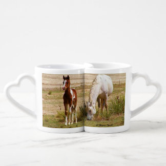 Mare and Colt Lazy Summer Day Lovers Mug