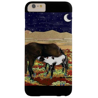 Mare and Colt Under the Stars by DeDe Shamel Barely There iPhone 6 Plus Case