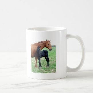 Mare and Her Colt Mugs
