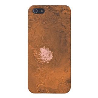 Mare Australe region of Mars iPhone 5 Case