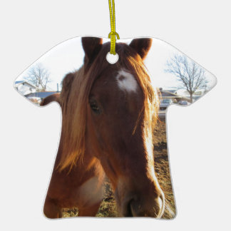 Mare Double-Sided T-Shirt Ceramic Christmas Ornament