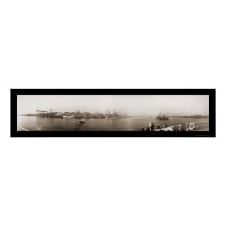 Mare Navy Yard Vallejo Photo 1911 Poster
