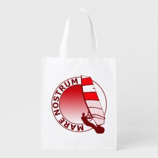 Mare Nostrum Reusable Grocery Bag