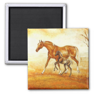 mare with foal magnets