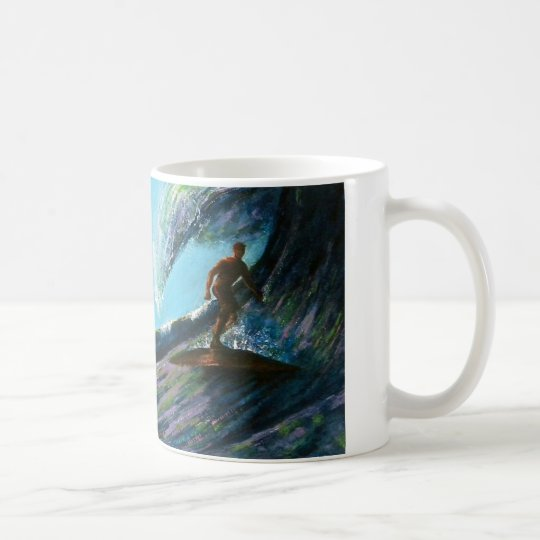 Marene Originals Art presents this Surf Art mug