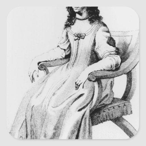 Margaret Cavendish, Duchess of Newcastle Square Sticker