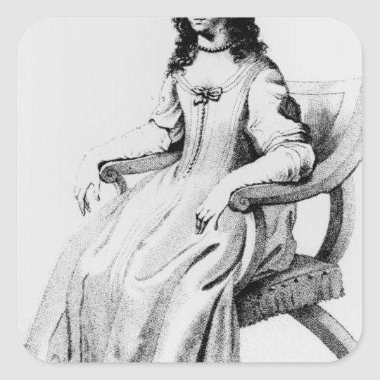 Margaret Cavendish, Duchess of Newcastle Square Sticker