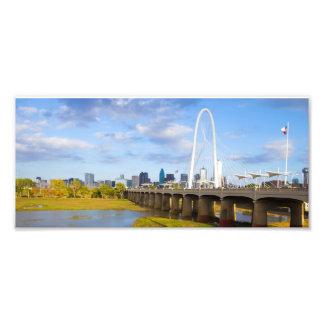 Margaret Hunt Bridge, Dallas, Texas Photo Print