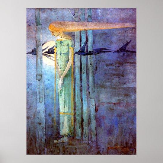 Margaret Macdonald Celtic Inspired Art Nouveau Poster