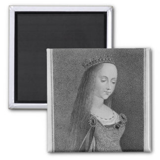 Margaret of Anjou Square Magnet