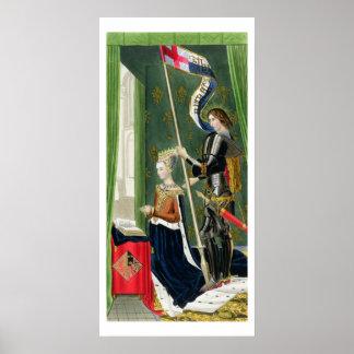 Margaret of Denmark, Queen of Scots (1456-86) afte Poster
