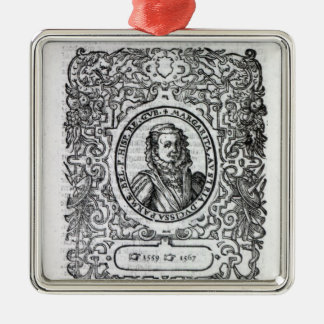Margaret of Parma, Governor of the Netherlands Christmas Ornament
