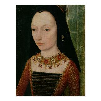 Margaret of York  Duchess of Burgundy, c.1477 Postcard