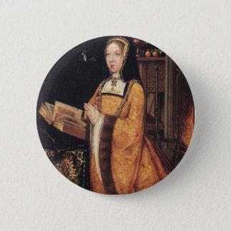 Margaret or Austria 6 Cm Round Badge
