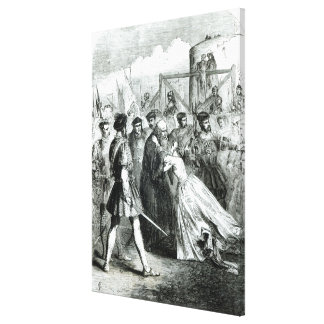 Margaret Roper  Taking Leave of her Father Canvas Print