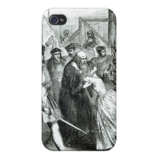 Margaret Roper Taking Leave of her Father Cover For iPhone 4