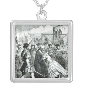 Margaret Roper  Taking Leave of her Father Silver Plated Necklace