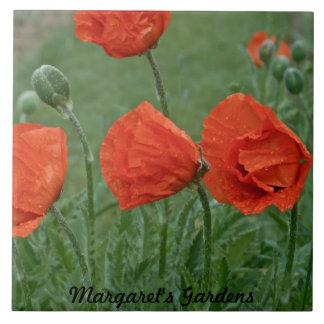 Margaret s Gardens Poppy Ceramic Tiles