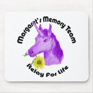 Margaret s Memory Team Logo--Relay For Life Mouse Pad