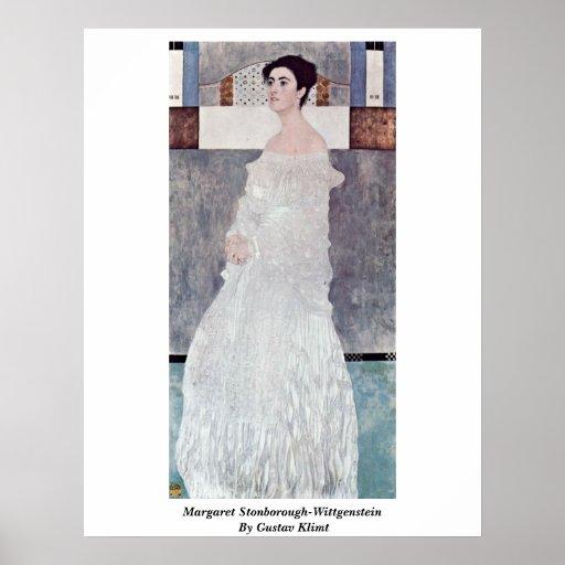 Margaret Stonborough-Wittgenstein By Gustav Klimt Print