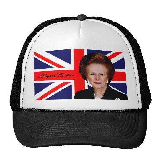 Margaret Thatcher - British Flag Mesh Hats