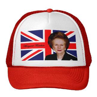 Margaret Thatcher - British Flag Cap