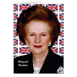 Margaret Thatcher Greeting Card