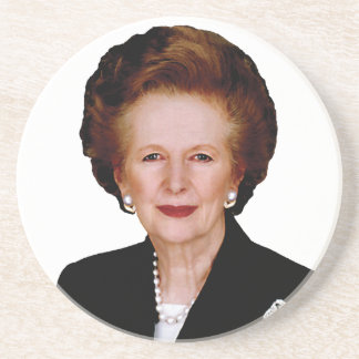 Margaret Thatcher Coaster