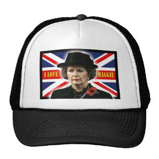 Margaret Thatcher I Love Maggie Cap